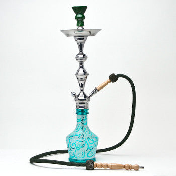 Aladin Hookah Arabica Large Blue