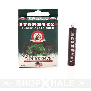 E-Hose Cartridge 4 Ct Pack - Pirate's Cave 1.5mg Nicotine
