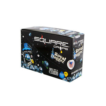 Square Drops 6 Ct Box - Royal Dagger 8mg