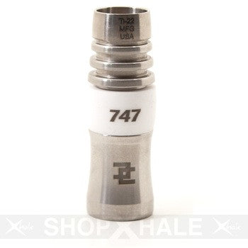 Ceramic Domeless 747 19mm Titanium Nail