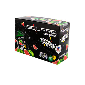 Square Drops 6 Ct Box - Seedless 8mg