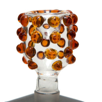 19 Gauge Multi Amber Marble Bowl.