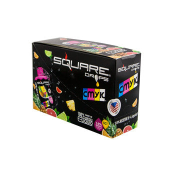 Square Drops 6 Ct Box - CMYK 16mg