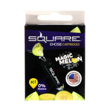 Square E-Hose Cartridge 4 Pack - Magic Melon Zero Nicotine