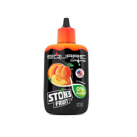 Square Drops  Stone Fruit Zero Nicotine