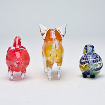 Mini Animal Hand Pipe Assorted
