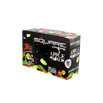 Square Drops 6 Ct Box - Apple Roma 8mg