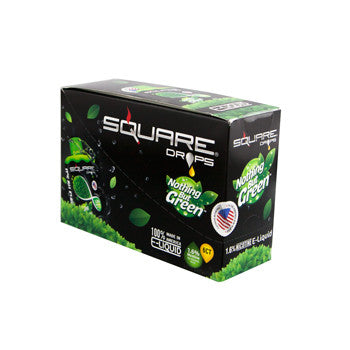 Square Drops 6 Ct Box - Nothing But Green 16mg