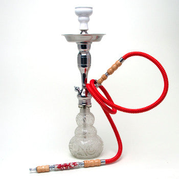 Big Boodah Hookah Hose - Red