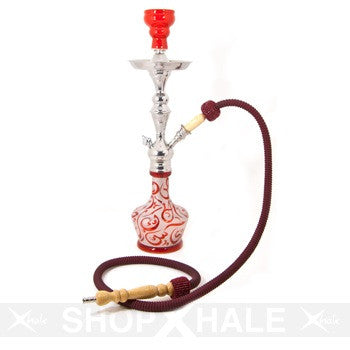 Aladin Hookah Arabica Small Red