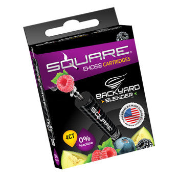 Square E-Hose Cartridge 4 Pack - Backyard Blender