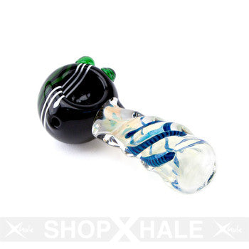 Twisted Black Hand Pipe