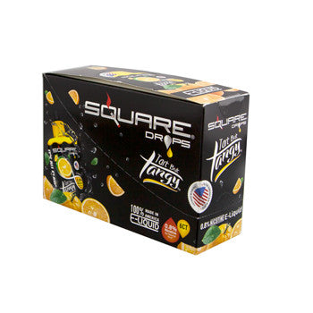 Square Drops 6 Ct Box - Tart but Tangy 8mg