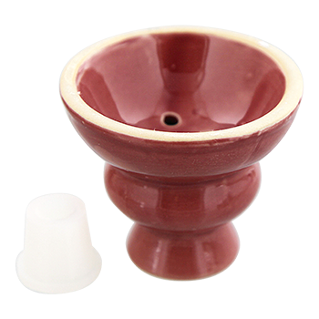 Ceramic Hookah Heads - Red