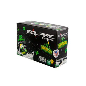 Square Drops 6 Ct Box - Shamrocked 16mg