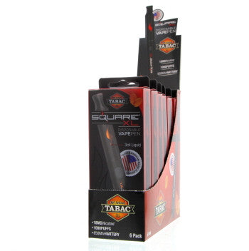 Square XL E-Hookah 18mg  - Old School Tabac