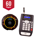 60-Pager Guest Paging System with Messages