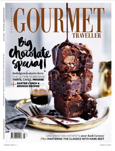GOURMET TRAVELLER  March 2016