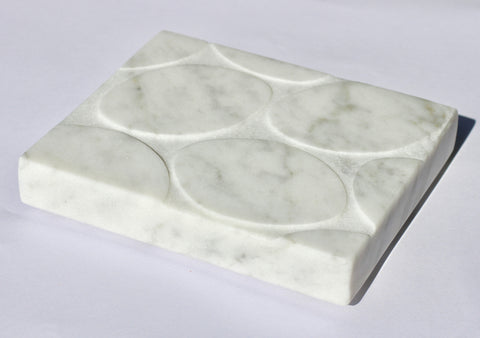 Carrara Marble Soap Tray