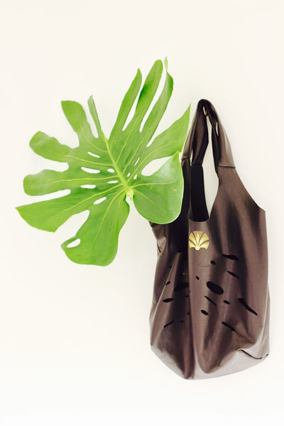 Black Deliciosa Shopper Bag
