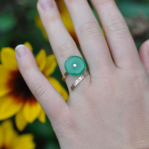 Jem's Jade Mini Ring