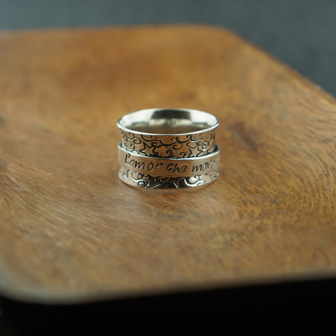 Dante - Jace Spinner Ring