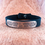 Distressed Family Symbol Bracelet - Hebel Design
