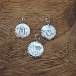 Distressed Family Symbol Charm - Hebel Design