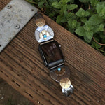Handcrafted Silver iWatch band - Hebel Design