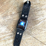 Handcrafted Leather Apple Watch band - Hebel Design