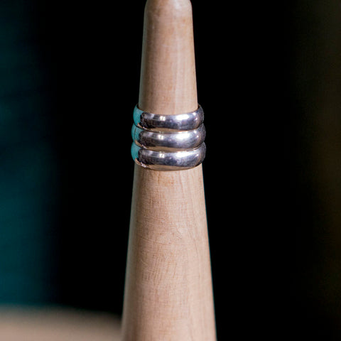 Silver Band Ring - Hebel Design