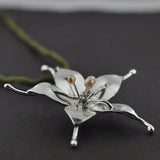 Midnight Flower Pendant - Hebel Design - 2