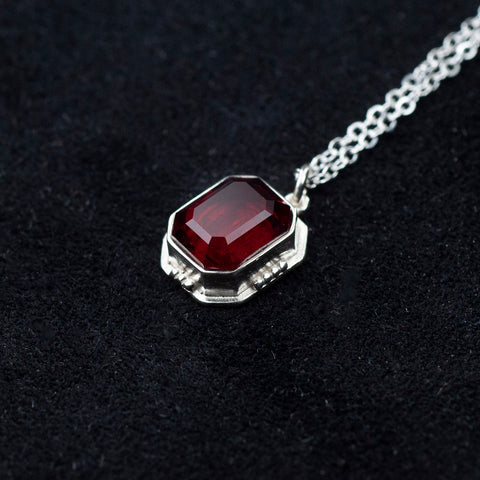 Isabelle's Ruby Necklace - Charm