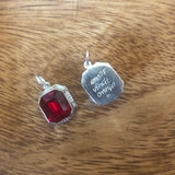 Isabelle's Ruby Necklace - Charm - Hebel Design