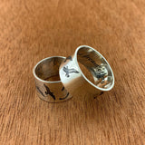 Will and Tessa Wedding Rings - Hebel Design
