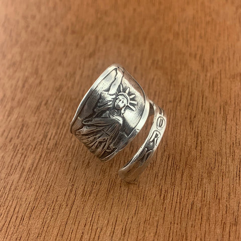 New York Spoon Ring