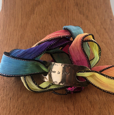 Love Is Love Wrap Bracelet