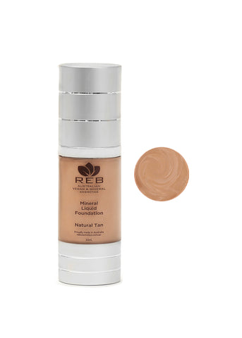 Liquid Foundation Natural Tan