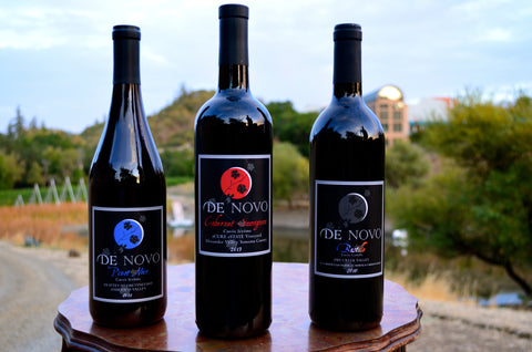 Thanksgiving Triad - Gold Pinot, Reserve Cab & Double Gold Bastille