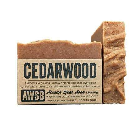 A Wild Soap Bar Bar Soap - Cedarwood - Nature's Own Essence