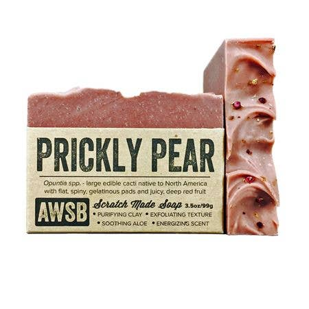 A Wild Soap Bar Bar Soap - Prickly Pear - Nature's Own Essence
