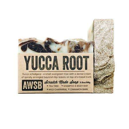 A Wild Soap Bar Bar Soap - Yucca Root Shampoo & Body - Nature's Own Essence