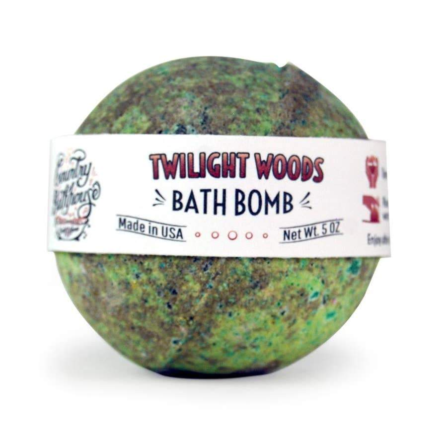 Country Bathhouse Bath Bomb - Twilight Woods - Nature's Own Essence