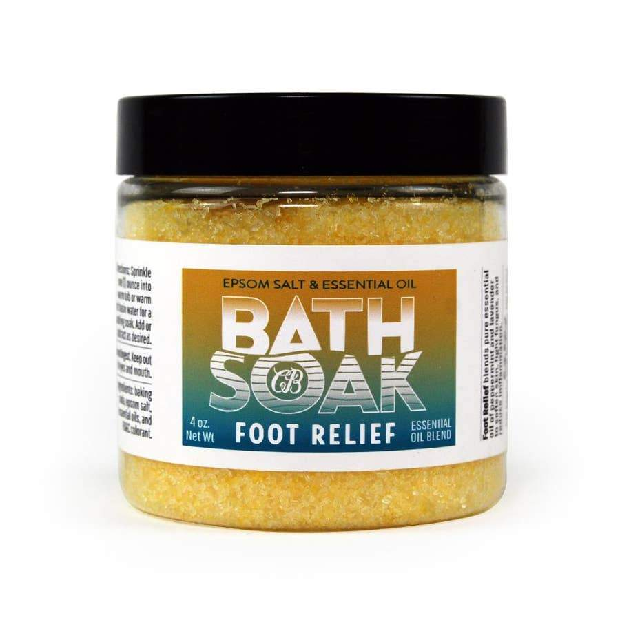 Country Bathhouse Bath Soak - Foot Relief - Nature's Own Essence