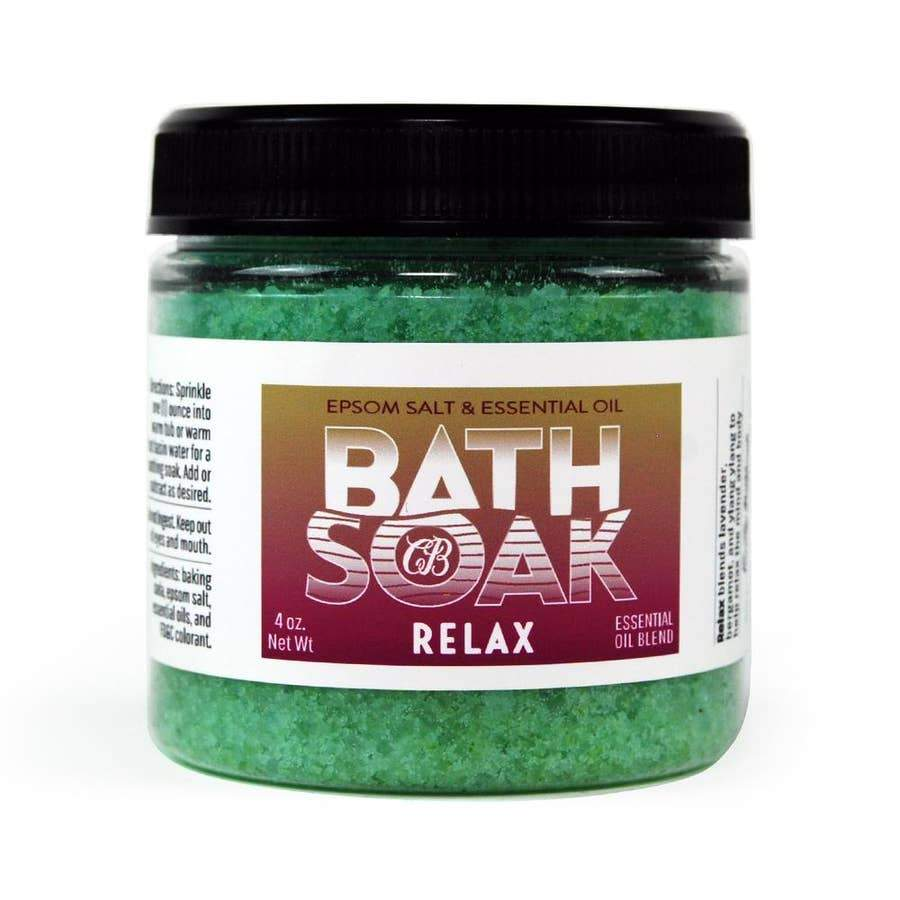 Country Bathhouse Bath Soak - Relax - Nature's Own Essence
