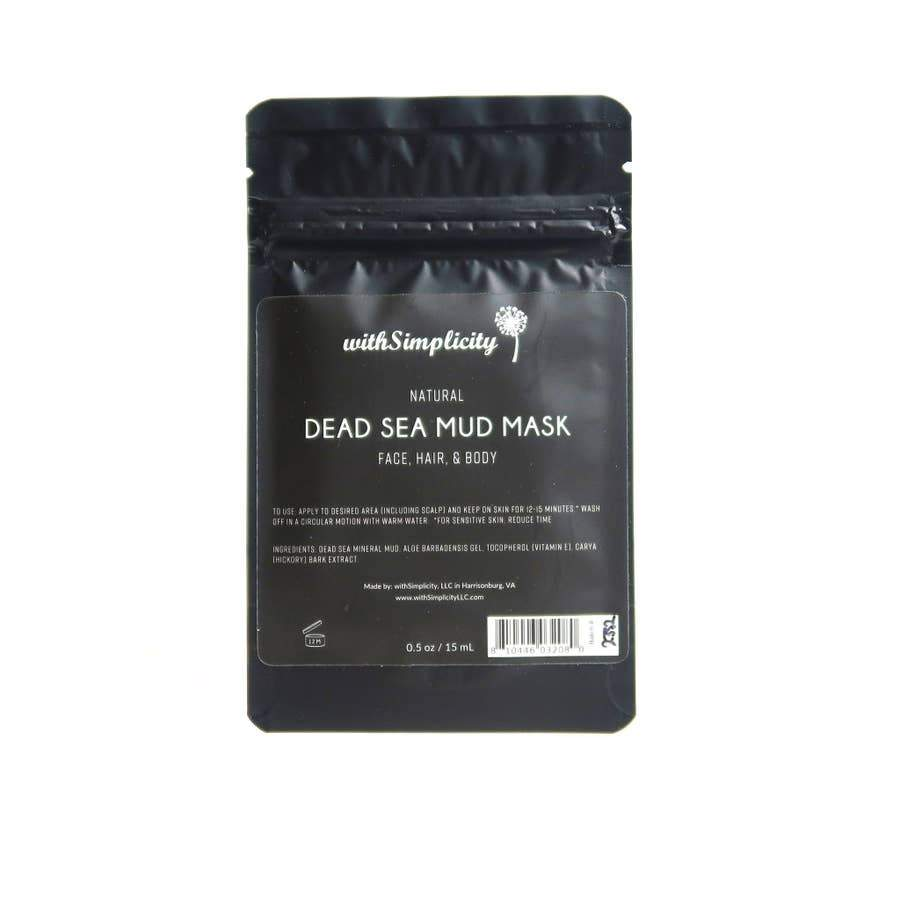 withSimplicity Beauty withSimplicity Beauty Dead Sea Mud Mask with Aloe Vera - Nature's Own Essence