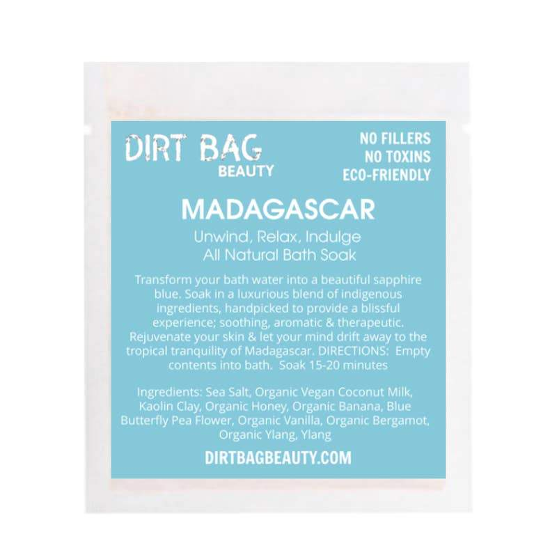 Dirt Bag® Beauty Madagascar Bath Soak -Single use - Nature's Own Essence