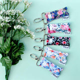 LippyClip® Lip Balm Holder Pink Spruce Floral LippyClip Lip Balm Holder - Nature's Own Essence