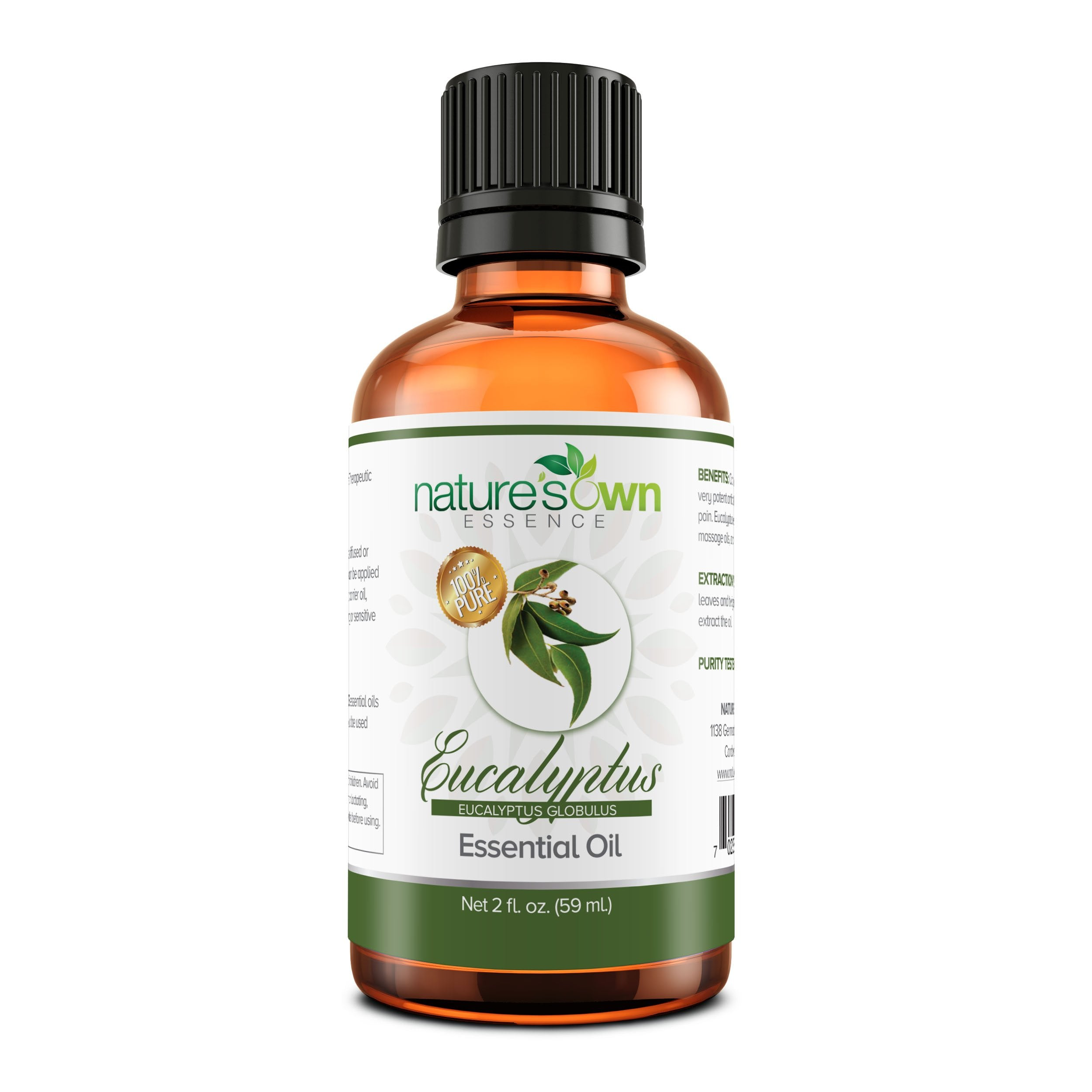 Nature's Own Essence Pure Essential Eucalyptus Oil - Nature's Own Essence
