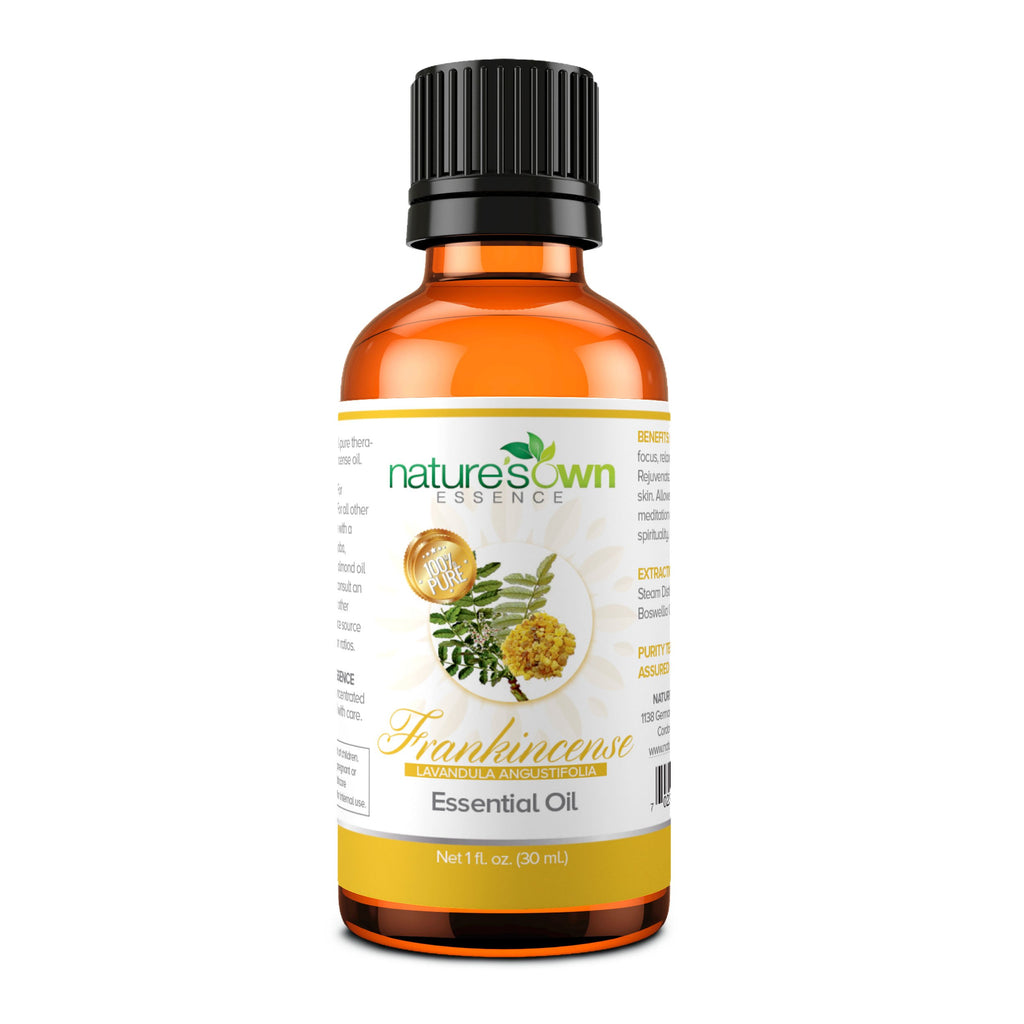 Nature's Own Essence Pure Frankincense Essential Oil - Nature's Own Essence